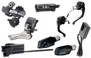 Shimano Di2 Time Trial Triathlon Groupset