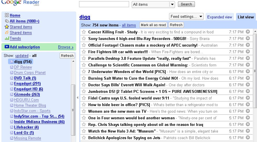 My Complaints and Suggestions for Google Reader – Carlton ...