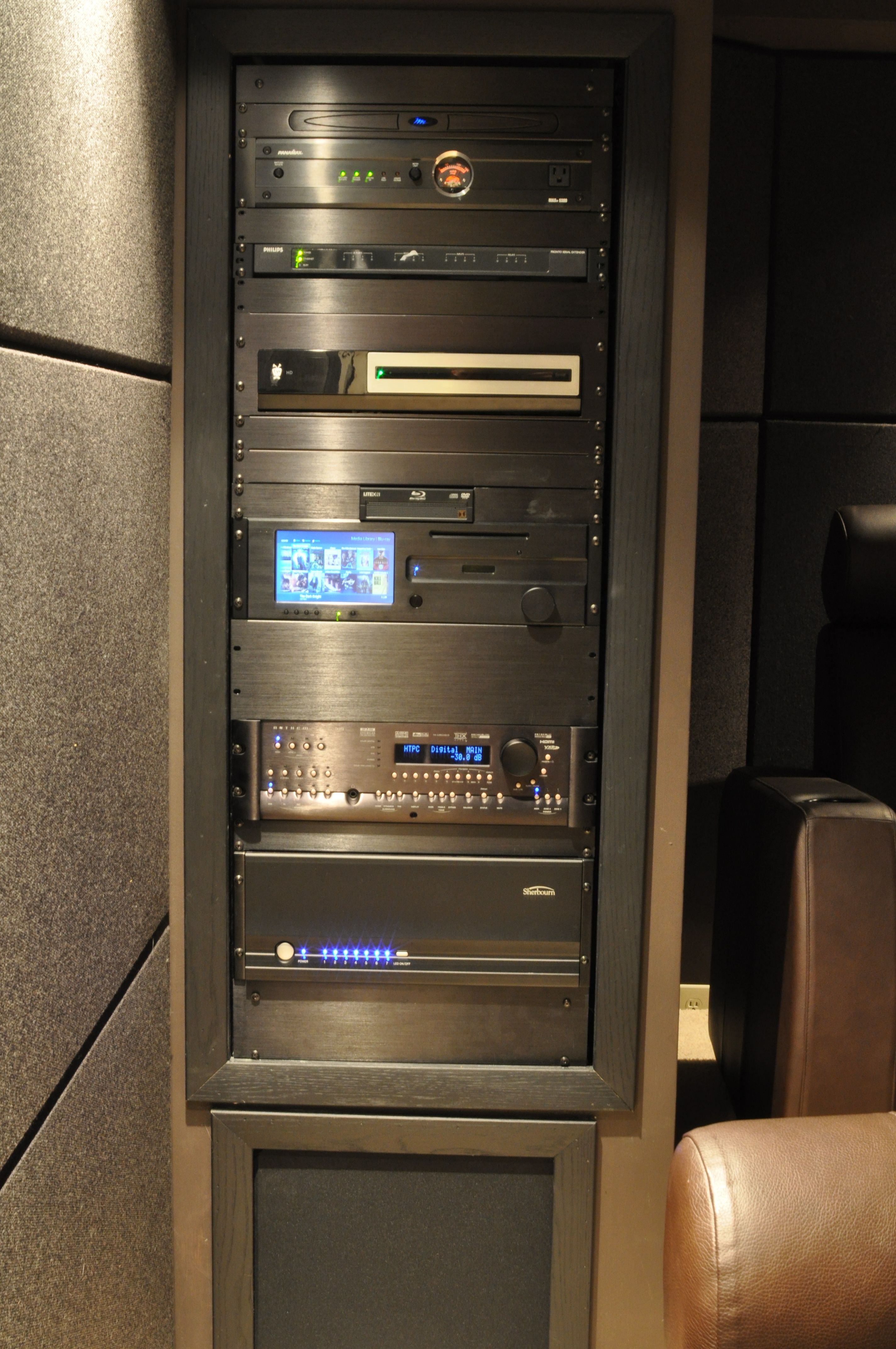 Home Theater Rack Systems