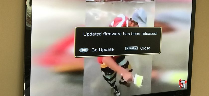 LG Firmware Update Available Message